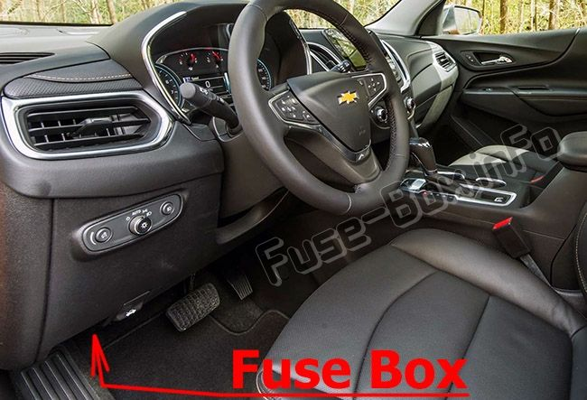 Chevrolet Equinox 2018 2019 Fuse Box Location Chevrolet