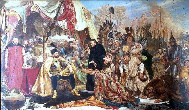 Oil painting reproduction: Jan Matejko Bathory At Pskov 1872 - Artisoo.com