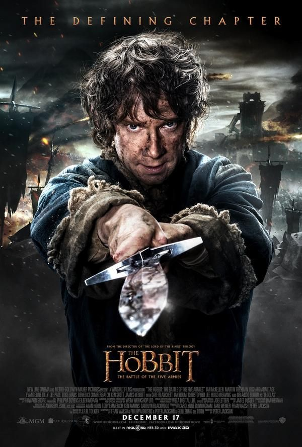 NEW POSTER FOR THE HOBBIT: BATTLE OF FIVE ARMIES!!!!!!!!!!!!!!!!!!!!!!!!!!!!!!!! // JUST SHOOT ME NOW!!!!!!!!