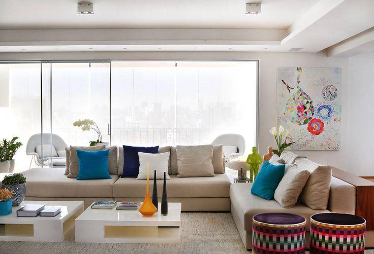 Sala de estar  (di Thaisa Camargo Arquitetura e Interiores)