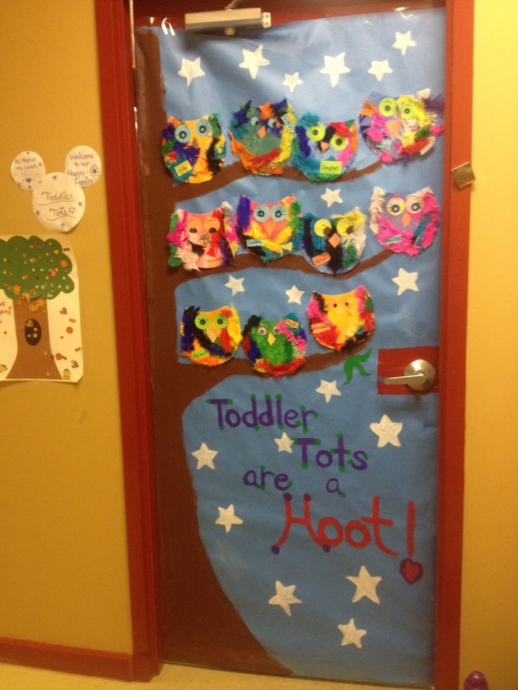 Infants Classroom Decoration Ideas ~ Owl door decorations decoratingspecial