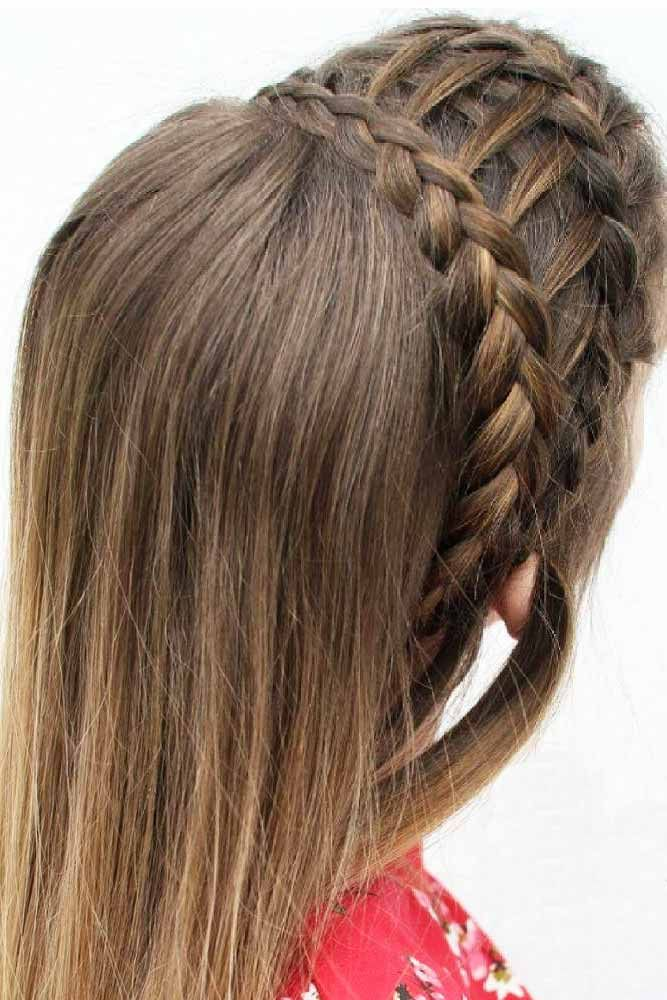 hair style tutorial 17 best ideas about ladder braid on hair 7565 | 0ff7565b1b998b5c100fd366729e59a3