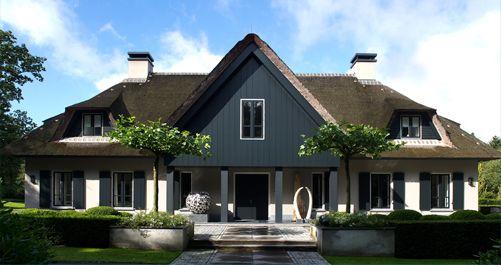 Villa landelijke moderne stijl mart landelijke huizen for Architecten moderne stijl