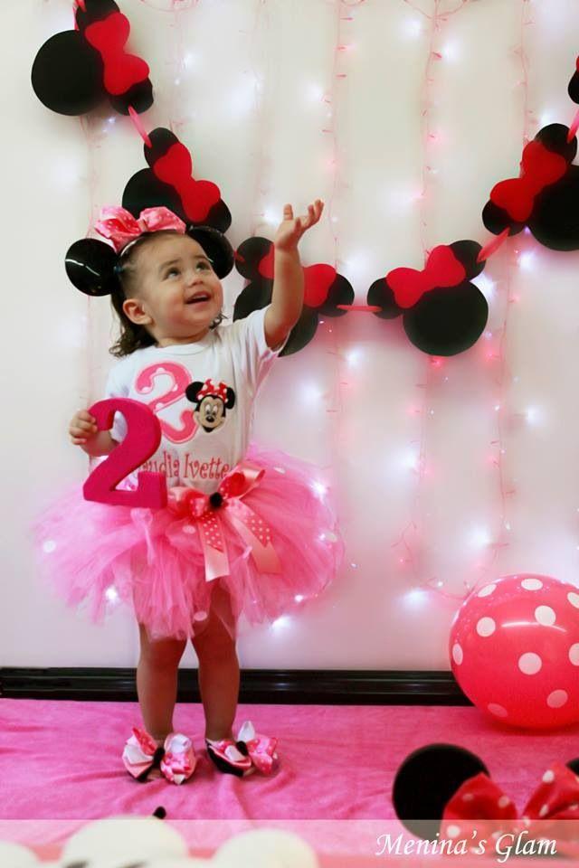 Minnie Mouse Photoshoot Idea Birthday Party Minnie Mouse                                                                                                                                                                                 Plus