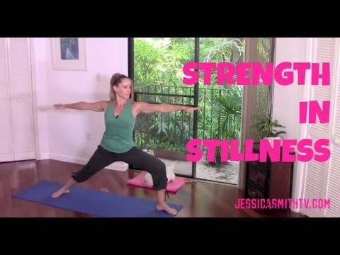 Yoga, Pilates, core, stretch, full length video, flexibility, 30-Minute Strength in Stillness | Jessica Smith TV Fitness YouTube Workout Videos