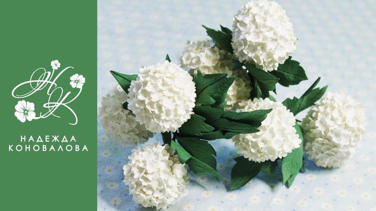 Цветы из фоамирана - Калина будьденеж из фоамирана - мастер класс