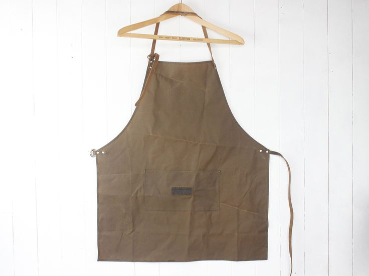 Thoughtfully designed canvas apron for men by Scaramanga