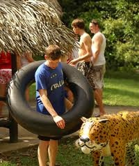 River Tubing at Cockscomb Basin Wildlife Preserve #belize #belize resorts #belize resort #belize vacation