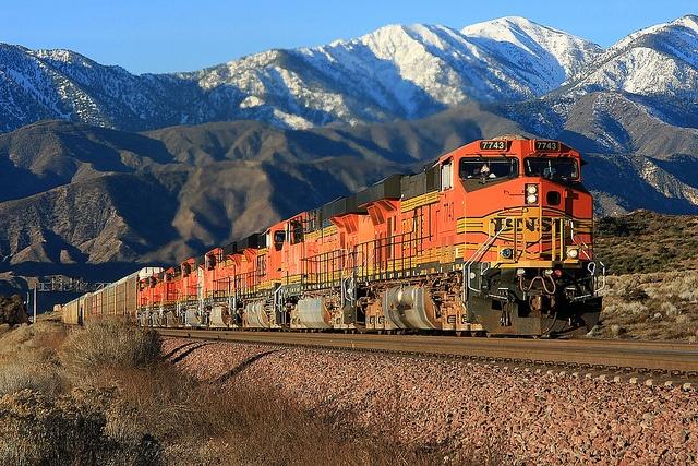Eastbound BNSF Auto-Train by Dave Toussaint (www.photographersnature.com), via Flickr