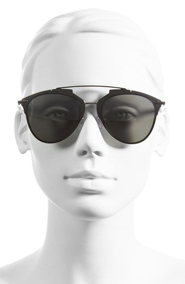 Dior 'Reflected' 52mm Sunglasses | Nordstrom