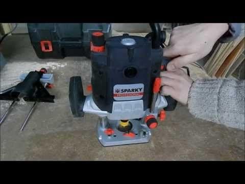 Обзор фрезера Sparky X 205CE - YouTube