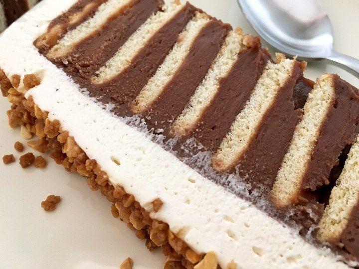 tartas con niños tarta helada nutella Tarta helada de galletas recetas postres delikatissen postres verano postres nutella postres fáciles rápidos blog…