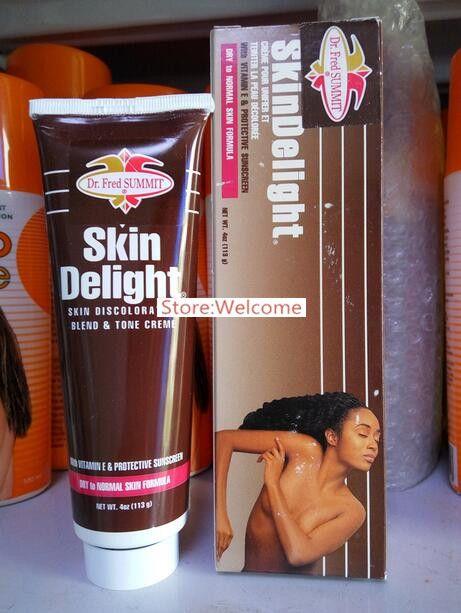 HOT!!! 100% work famous brand Dr. Fred Summit Skin bleaching cream for dark skin skin brightening cream bleaching cream