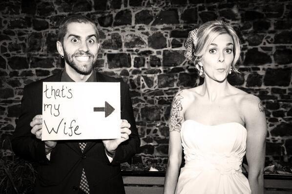 .thats my wife | repinned by www.berlinfotografin.de .. #Wedding #Hochzeit Follow me on www.facebook.com/pages/Berlin-Fotografin/304964096211572