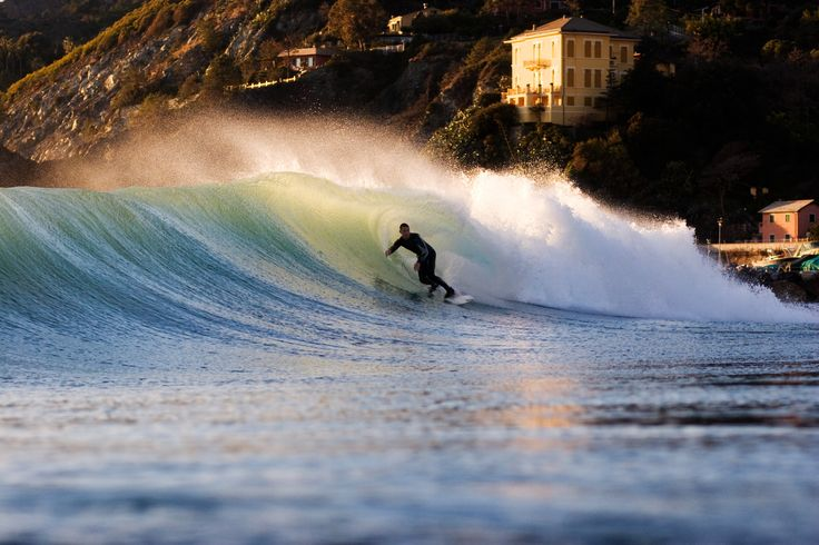 Onto surf Levanto Italy..by imagoshots surf...