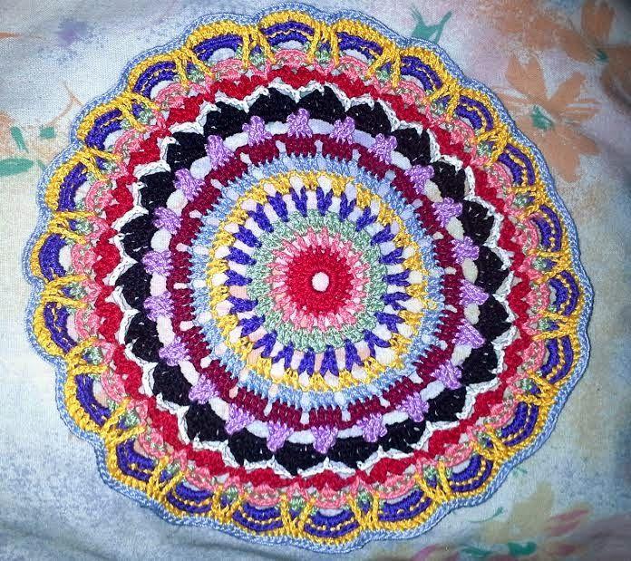 Mandala 21 Rug By John - Free Crochet Pattern ...