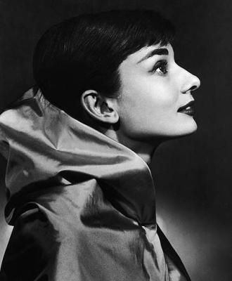 Yousuf Karsh portrait of Audrey Hepburn...