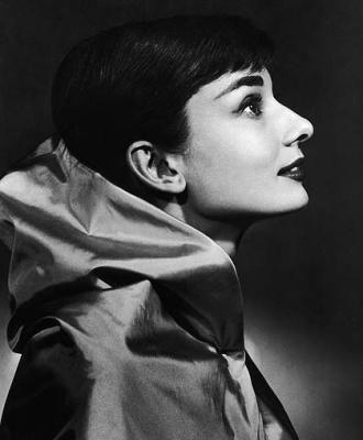 Yousuf Karsh portrait of Audrey Hepburn...