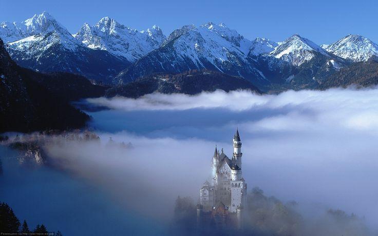 Дворцы и замки Германии: Нойшванштайн (Neuschwanstein Castle) - Мастерок.жж.рф