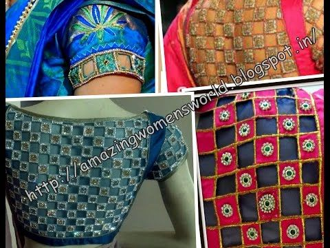 CREATIVE DESIGNER BLOUSE EASY MAKING - YouTube