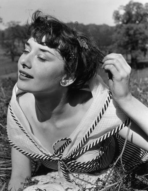 Audrey Hepburn, May 1950 by Bert Hardy