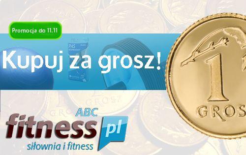 Nowa promocja w sklepie ABCfitess.pl Przy zakupie dwóch produktów trzeci dostaniecie za 1 grosz :)  Warunki promocji na: http://www.abcfitness.pl/Kupuj-za-1-grosz/