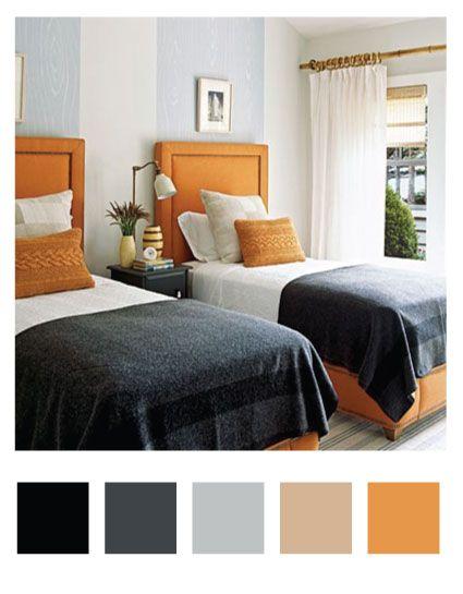 Bedroom Paint Color Combinations For Bedrooms Orange And Grey Bedroom Asian Bedroom Furniture Sets Best Solid Wood Bedroom Set Atrractive Contemporary Orange And Grey Color Bedroom Interior Design Ideas