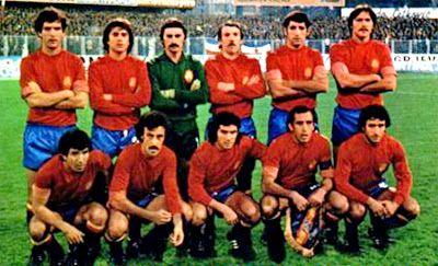 EQUIPOS DE FÚTBOL: ESPAÑA Selección 1978-1982 - 67 fotos diferentes