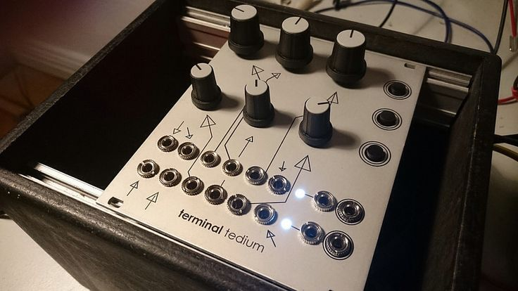 Kichi Chimera Synthesis bC16 Patchable Synthesizer Vintage