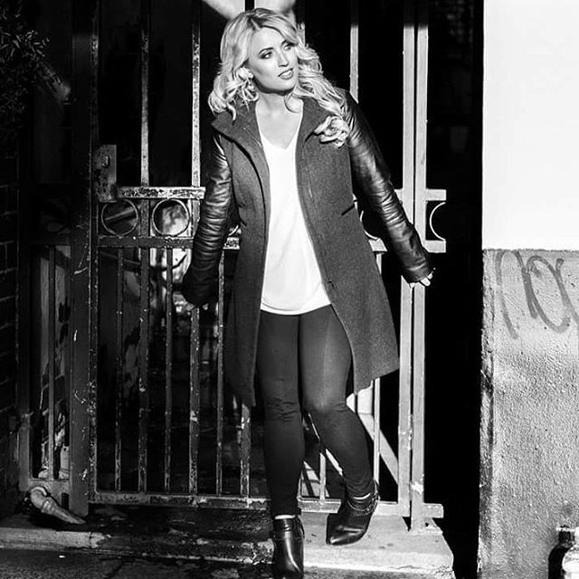 """Long blonde hair. Black and white fashion photography.  Zara. FCUK. French Connection. Emily Hadril. St Kilda. Street Fashion. Myer. Wayne Cooper. Leather jacket. Winter coat. Black leather  Windsor Smith high heel boots. Elegant. Classy. Sexy.  Makeup ideas. Hair ideas.  Curly blonde hair. Platinum blonde. Natural blonde hair. (@alishaperris_creativestudio) on Instagram: """"I'd like to send a shoutout to Erica at @cocoblue_photography for such a great day on location in…"""""""