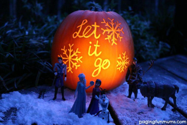 Frozen Halloween Pumpkin | Plays, Pumpkins and Halloween