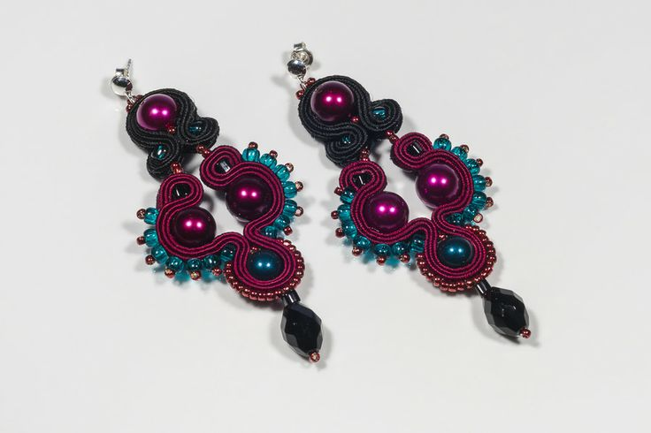 Soutache pendants by Tomasz Jurkowski on 500px