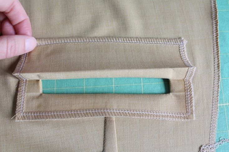 WELT POCKET TUTORIAL. Really clear. Looks easy enough if you just follow the steps.