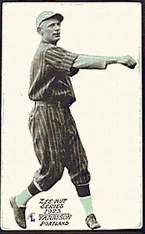 March 9, 1896 in Montgomery, Pennsylvania – April 22, 1977 in Williamsport, Pennsylvania: Byron 'Rube' Yarrison: pitched in pro ball 1920-1927/     Philadelphia Athletics (1922)     Brooklyn Robins (1924)//attended Gettysburg College