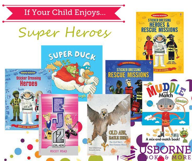 Best of Usborne Super Heroes Books