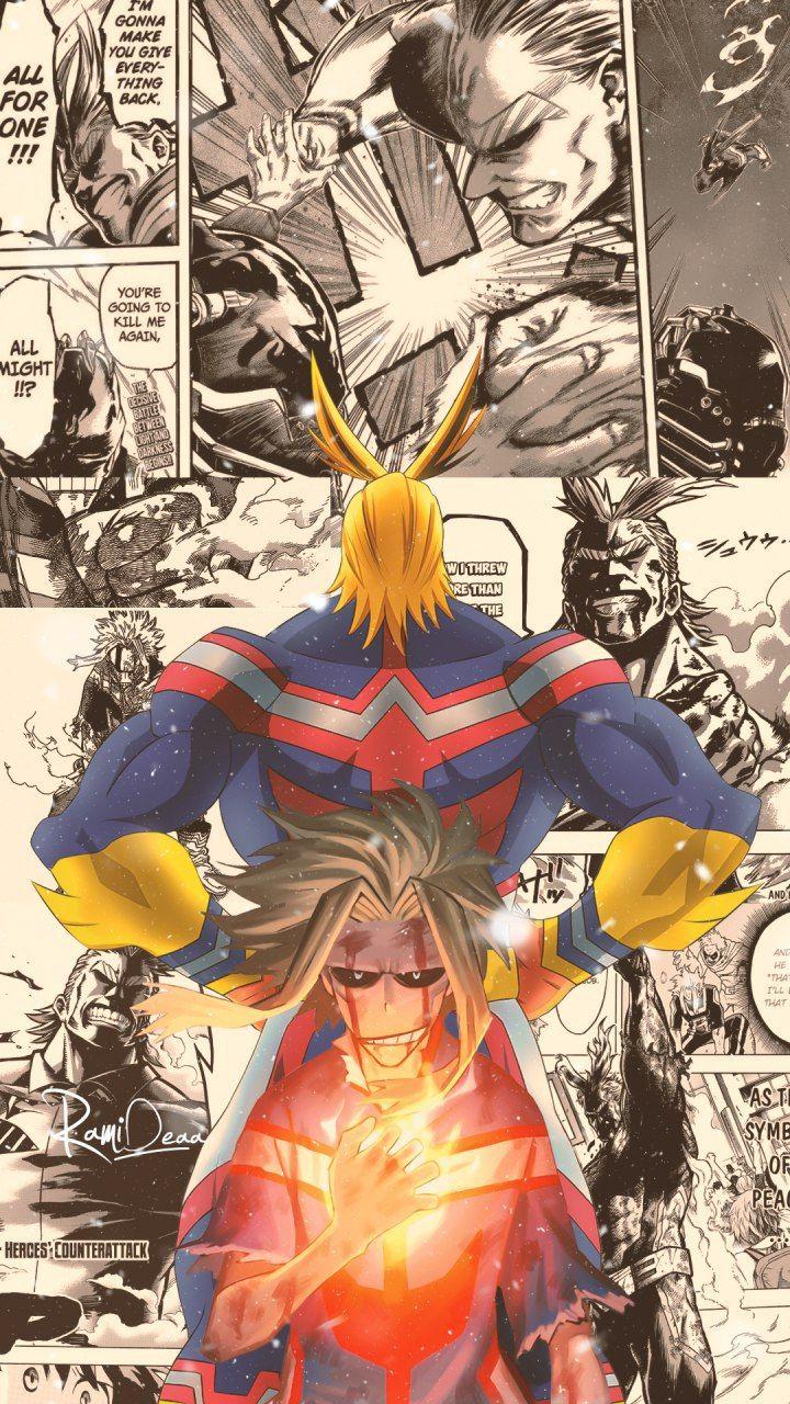 All Might Hero Wallpaper Hero Anime Wallpaper