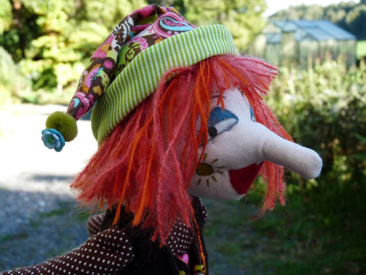 "Cloth Art Doll ""Lala"" OOAK by KakahiCraft on Etsy"