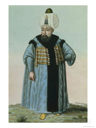 Selim II (1524-74) Called 'Sari', the Blonde or the Sot, Sultan 1566-74