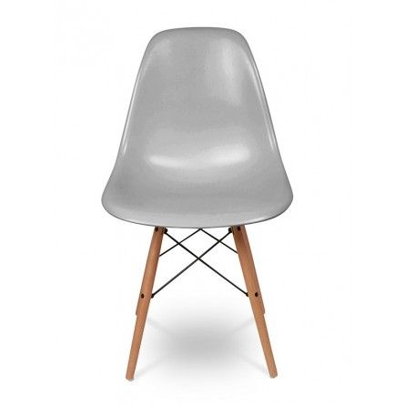 Eames DSW Chair - mid grey