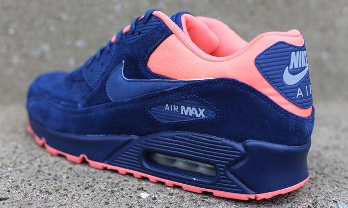 "Nike Air Max 90 Premium ""Brave Blue"" https://twitter.com/gmsingin1/status/915364876633042945"