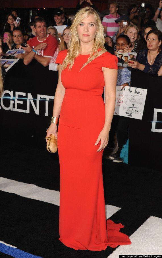 """""""Ugly"""" is too afraid to go near Kate Winslet. The woman can wear anything and has MY ideal figure. Gorgeous."""