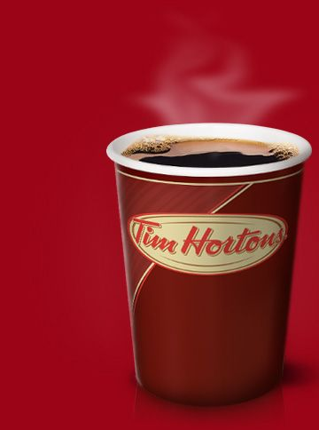 The best coffee ever....!!! Tim Hortons Coffee