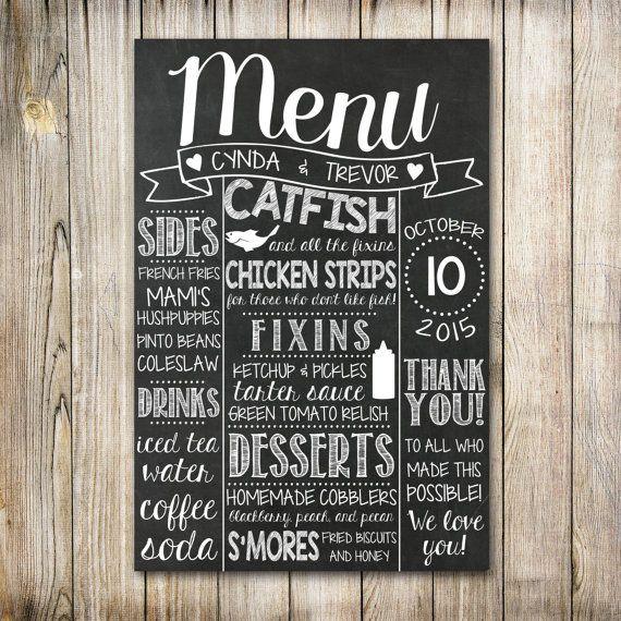 + de 30 idées pour présenter votre menu de mariage - La Mariée en Colère Blog Mariage, grossesse, voyage de noces