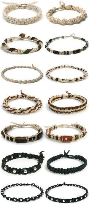 Simple Friendship Bracelets. Craft ideas 5189 - LC.Pandahall.com