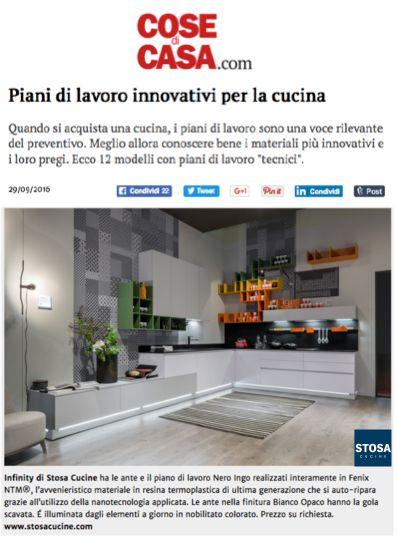 #StosaInfity sulla versione online di Cose di Casa per un servizio dedicato ai piani di lavoro innovativi http://www.cosedicasa.com/piani-di-lavoro-innovativi-per-l…/