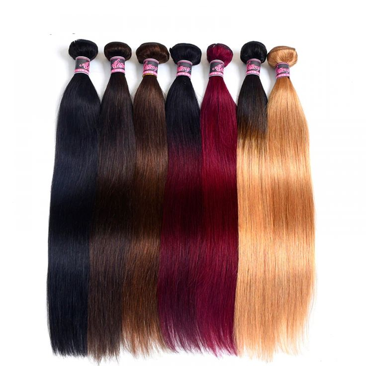 Straight Non-Remy Weft Hair Extension