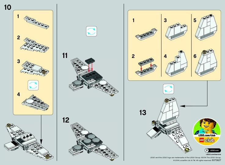 2 Star Wars - Imperial Shuttle [Lego 30246]