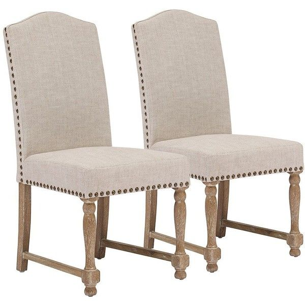 Set of 2 Zuo Richmond Beige Chairs ($580) via Polyvore featuring home, furniture, chairs, seating, brown, ivory chair, beige furniture, cream furniture, set of two chairs and brown chair