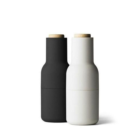Menu Bottle Grinders Ash + Carbon | Simple Style Co