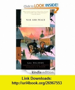 War and Peace (Modern Library Classics) eBook Leo Tolstoy, A.N. Wilson, Constance Garnett ,   ,  , ASIN: B007M2B03U , tutorials , pdf , ebook , torrent , downloads , rapidshare , filesonic , hotfile , megaupload , fileserve